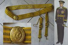 URSS ceinture avec la suspension de la dague OFFICIER Marine Naval SOVIETIQUE