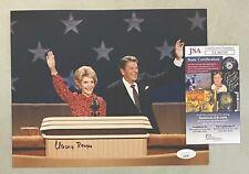 Nancy Reagan Signed 8x10 Photo Autographed w/ Ronald Reagan Jsa Coa