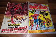 Stan Lee`s  MARVEL COMIC STARS  # 6 / 1981 -- das DING+HULK - SPINNE+GRUPPE X
