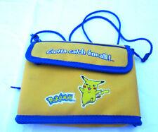 Pokemon Pikachu Nintendo Gameboy Color / DS Yellow Gotta Catch Em All Carry Case