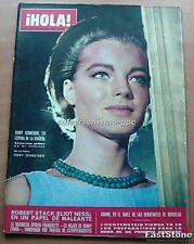 HOLA 1161 ROMY SCHNEIDER Great Cover 1966 DEAN REED JANE ASHER I SPY TV SERIES