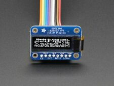 Monochrome 128x32 SPI OLED graphic display for Raspberry Pi or Arduino