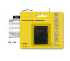 scheda di memoria Memory card per SONY PS2 128 MB 64MB playstation 2 nuova