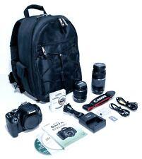 Canon EOS Rebel T3i 600D DSLR Camera Bundle 75-300mm & 18-55mm SD Backpack