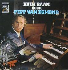 PIET VAN EGMOND - RUIM BAAN VOOR PIET VAN EGMOND - LP