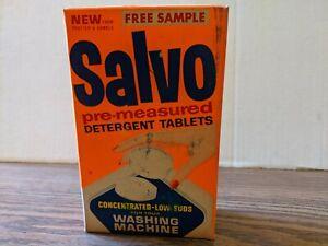 Vintage Unopened Box of Salvo Detergent Tablets