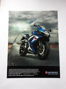 Suzuki GSXR 750 Advert from 2006 - Original Ad Advertisement GSX-R