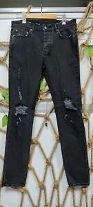NEW KSUBI CHITCH FURY DENIM MEN'S JEANS BLACK SIZE 28/29/32/38 US FREE SHIPPING