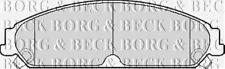 FRONT BRAKE PADS SET BORG & BECK FOR CHRYSLER 300 C SALOON 3.0 160KW