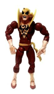 """Marvel Legends Iron Fist Action Figure Red Costume Variant Toy Biz 6"""" inch (1d)"""