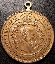 Allemagne - Kaiser Wilhelm I - médaille anniversaire des 91 ans - 1888 SUP !!!
