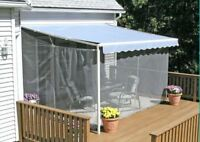 Mosquito Netting House Yard Lawn Garden Awning Canopy Patio Enclosure Tent