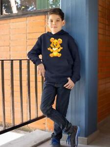 Yellow Teddy Bear Hoodie -Image by Shutterstock