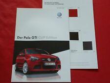 "VW Polo GTI ""Cup Edition"" Sondermodell Prospekt + Preisliste von 2007"