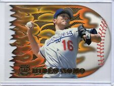 HIDEO NOMO Dodgers 1996 Pacific Prism #FT-5 Flame Throwers Die-Cut Insert Card