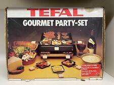 TEFAL Party Gourmet Set,  Raclette-Grill, incl. Pfännchen für 8 Personen