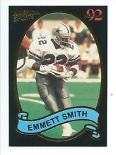 "Emmitt Smith 1992 American Sports Monthly Error Card; Spelled ""Emmett"""