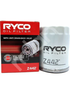 Ryco Oil Filter FOR NISSAN MICRA K12 (Z442)