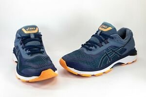 Asics Women's Slate Grey And Navy GT-2000 Running Shoes Sneakers Size US 9