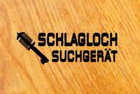 SCHLAGLOCH SUCHGERÄT Aufkleber Sticker Fahrwerk Spruch Fun Tuning Decal Shocker