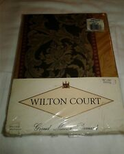 New Vintage Walton Court Grand Manor Damask Table Cloth Oblong 60X84