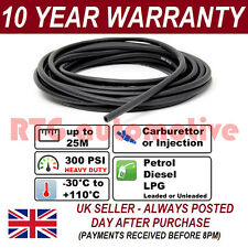 "10mm 3/8"" RUBBER OIL FUEL HOSE PETROL DIESEL WATER 300 PSI PER 1 METRE J30R6/R7"