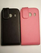 Vertical style PU leather flip phone case, cover to fit Samsung Galaxy Ace Style