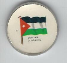 1963 General Mills Flags of the World Premium Coins #77 Jordan
