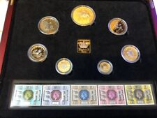 More details for 1977 silver jubilee majesty year proof set  + coa