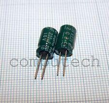 220uF 10V 105°C Condensatori SANYO CZ Series 6,5 X 11mm 10 pezzi