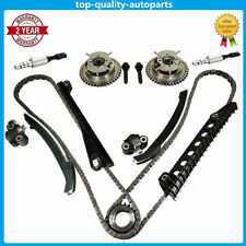 Valve Timing Chain Cam Phaser Set For 04-08 Ford F150 F250 Lincoln 5.4 TRITON