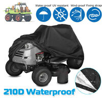 70'' Riding Lawnmower Tractor Cover For All Weather Outside Storage UV