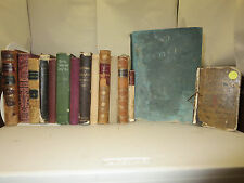 19th Century Mini-Library Lot of 16 Classic Tomes Prince of Abyssinia Catechisme