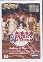 Dvd GARINEI E GIOVANNINI ~ AGGIUNGI UN POSTO A TAVOLA Johnny Dorelli nuovo 1974