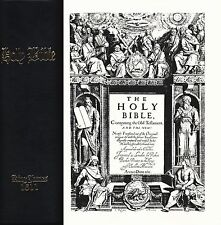 The Bible King James Version Facsimile Small Folio Black Binding 1611 & 2011