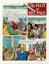 Bible Stories in Pictures #32 Part 1    February 28 1954     The Plot to Kill Pa