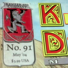 KNIGHTS OF THE DINNER TABLE 91 (MAY 2004) FN KENZER & COMPANY