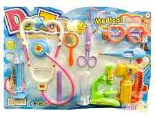 Pretend and Play Doctor Set Childrens Kids Medical Kit Set Nurse Dress Up AidBox