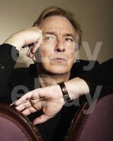 Alan Rickman Photoshoot 10x8 Photo