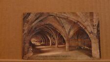 Unposted Postcard Durham Cathedral, The crypt E 4776