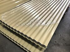 Corrugated Roofing Steel Sheets Cream Color $8.25 L/M