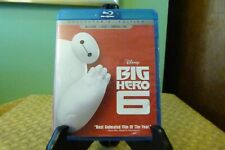Disney Big Hero 6 (Blu-ray/DVD, 2015, 2-Disc Set, Blu-Ray MN/DVD Good Condition