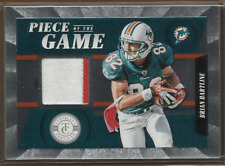 2011 Totally Certified Piece of the Game Prime #27 Brian Hartline Jersey /49