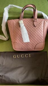 Gucci candy pink top handle bag