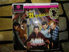 CLIFF RICHARD - 21 TODAY LP - COLUMBIA GREEN LABEL