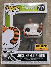 Funko Pop Vinyl Jack Skellington w/snake Nightmare Before Christmas #717 Disney