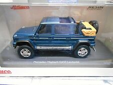 MERCEDES BENZ G650 Landaulet grün blau met G-Modell 4x4 SUV Pro R Schuco 1:43