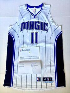 2014-15 NBA ORLANDO MAGIC DEVYN MARBLE ROOKIE DEBUT GAME WORN JERSEY MEIGRAY COA