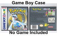 Pokemon Silver Version - Game Boy Color GBC Case - *NO GAME*