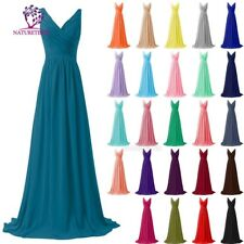 Lace/Long Formal Wedding Evening Ball Gown Party Prom Bridesmaid Dress Size US26